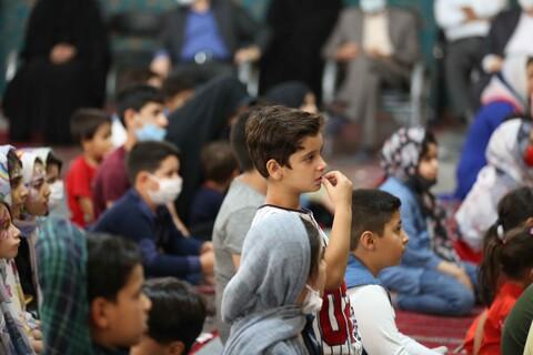 تصاویر/مراسم جشن دهه کرامت در مصلی قدس با حضور مراسم جشن کرامت در مصلای قدس قمزندانیان