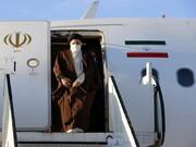 رئیس جمهور منتخب مردم وارد مشهد شد
