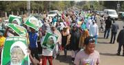 नाईजीरिया मे एक बार फिर उठी शेख़ इब्राहीम ज़कज़की और उनकी बीवी की बिना शर्त रिहाई की मांग