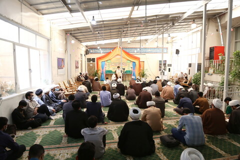 تصاویر / مراسم تودیع و معارفه رئیس مرکز جامع علوم اسلامی ولی امر
