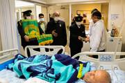تصاویر/ حضور کاروان زیر سایه خورشید در بیمارستان های اصفهان
