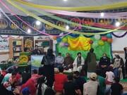 امامزاده عبدالمهیمن بوشهر میزبان خدام رضوی