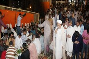 کراچی میں محفل و جشن میلاد امام رضا (ع) اور  دسترخوان کا اہتمام