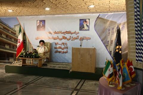 تصاویر/ افتتاحیه مدرسه بنت الهدی پردیسان