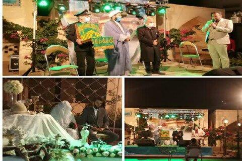 ویژه برنامه «رافت کریمانه» با حضورخدام آستان قدس رضوی در مؤسسه امام حسین (علیه السلام) یزد