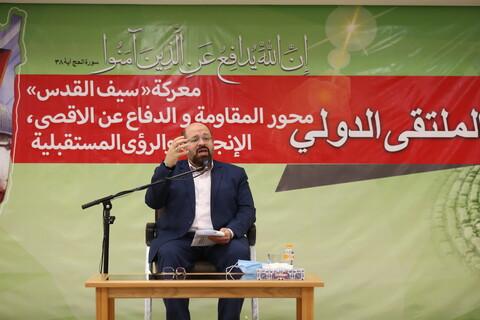 تصاویر/ همایش بین المللی نبرد شمشیر قدس،فلسطین و محور مقاومت