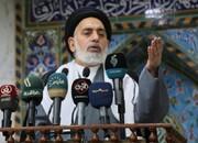 امام جمعه نجف: آمریکا در عرصه نظامی و سیاسی شکست خورده است