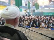 تصاویر آرشیوی از گردهمایی ائمه جماعات قم در تیرماه ۱۳۸۵