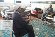 تصاویر/ مصاحبه تخصصی دوره تربیت مشاوره در حوزه علمیه کرمانشاه