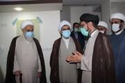 بازدید نماینده ولی فقیه از مرکز آموزش زبان حوزه علمیه قزوین