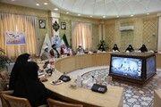 آیین افتتاح انجمن هلال احمر جامعةالزهرا(س) برگزار شد