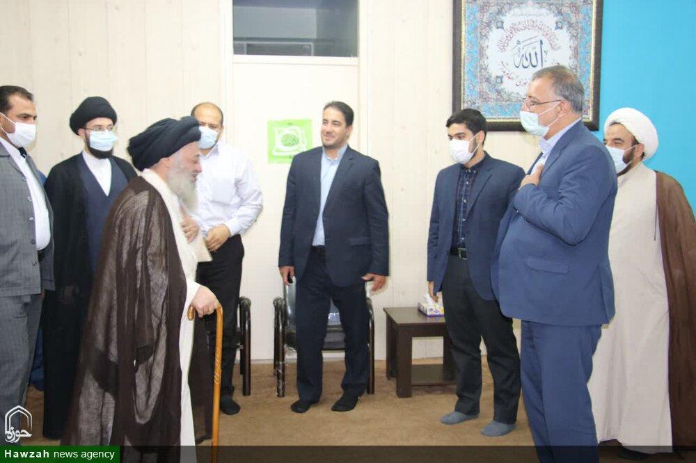 تصاویر| دیدار دکتر زاکانی با آیتالله موسوی جزایری
