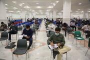 تصاویر/ آزمون اختصاصی سال ۱۴۰۰ دانشکده دین و رسانه قم