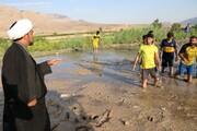 تصاویر/ روحانی، سرمربی فوتبال
