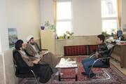 آغاز مصاحبه طلاب جدید الورود حوزه علمیه قزوین