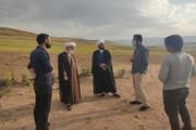 تصاویر/ بازدید مدیر مرکز خدمات حوزه علمیه آذربایجان غربی از روحانیون مستقر در شهرستان چالدران