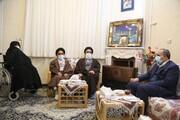 استاندار قم درگذشت همسر شهید انقلاب حجت الاسلام اوسطی را تسلیت گفت