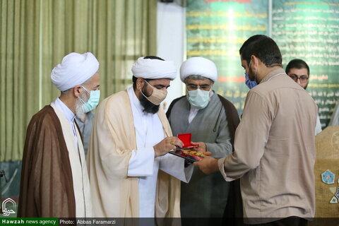 بالصور/ الحفل الختامي لدورة الناشطين الحوزويين في مجال الإعلام والعالم الافتراضي التخصصية في مدينة رامسر شمالي إيران