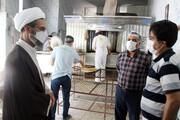 تصاویر/ بازدید نماینده ولیفقیه در خراسان شمالی از نانواییهای سطح شهر بجنورد