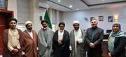 مجمع علماء و خطباء حیدرآباد دکن کی ایرانی جنرل قونصلیٹ مہدی شاہ رخی سے خیرسگالی ملاقات