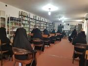 تقدیر مدیر تبلیغات اسلامی شوش دانیال از مبلغین مدرسه علمیه الزهرا(س)