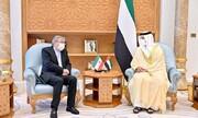 ابو ظبی میں امارات کے نائب وزیر اعظم اور ایرانی سفیر کی ملاقات،دوطرفہ تعلقات میں بہتری پر تبادلہ خیال