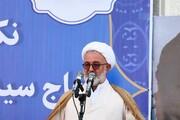 آیت الله العظمی حسینی شاهرودی، یکی از مفاخر جهان اسلام هستند