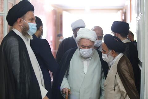 تصاویر / مراسم بزرگداشت همسر شهید اوسطی