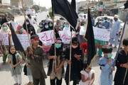 بہاولنگر؛ اہل بیت اطہارؑ کی شان میں گستاخی کے خلاف خواتین کی احتجاجی ریلی