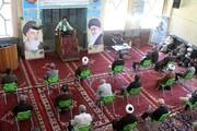 تصاویر | برگزاری مراسم شهادت امام جواد(ع) در حوزه آیت الله آخوند همدان