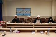 ابلاغ سلام آیت الله اعرافی به طلاب جهادی گلستان