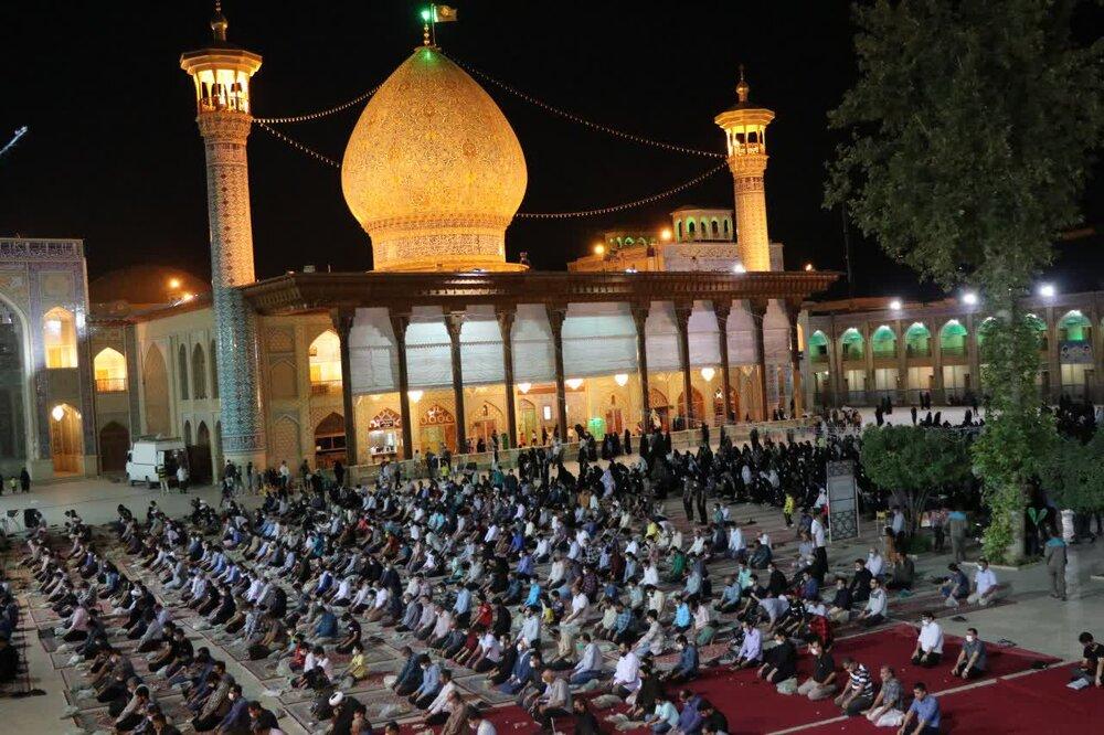 تصاویر| مراسم بزرگداشت مرحوم آیت الله حدائق در شیراز