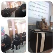 """هشتمین جلسه """"دوره آموزشی تحول جهان اسلام"""" در ساوه برگزار شد"""