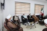 تصاویر/ جلسه شورای روحانیت ارومیه در مرکز خدمات حوزه علمیه آذربایجان غربی