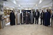 تصاویر/ بازدید مبلغان نخبه از مرکز اسناد حوزه و روحانیت