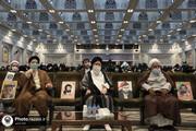 """تصاویر/ روضہ امام رضا ( ع) میں مسجد گوہر شاد تحریک کی سالگرہ کے موقع پر """"حماسہ حجاب """" سیمینار کا انعقاد"""