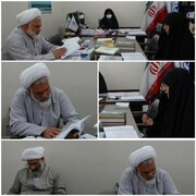 جلسه ارزیابی متقاضیان تدریس مدارس علمیه خواهران گلستان برگزار شد