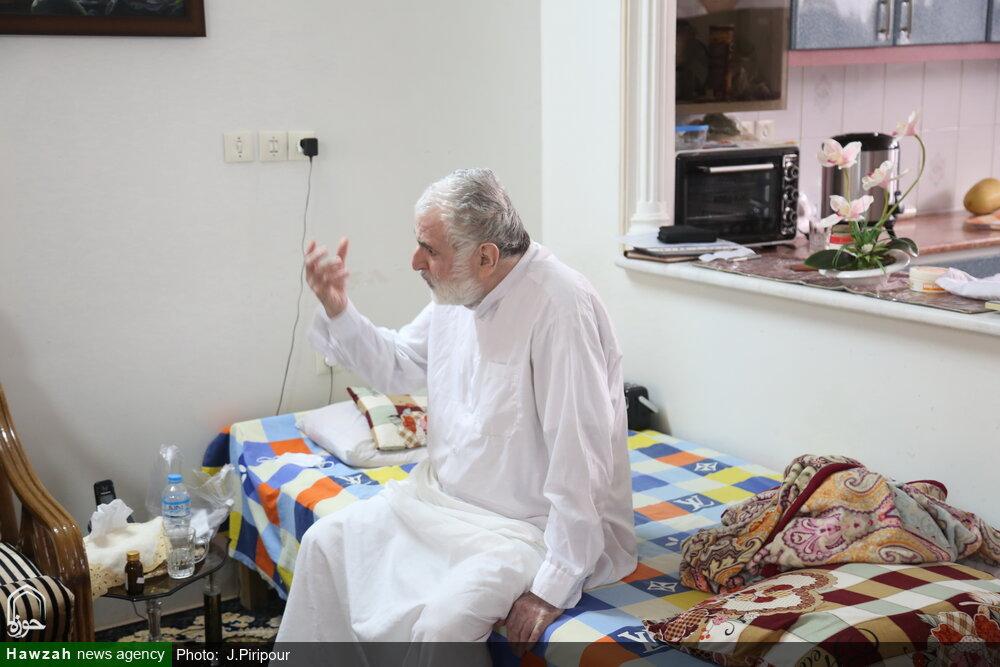 مدیر حوزه درگذشت حجت الاسلام رضوانی را تسلیت گفت
