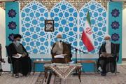 گزارشی از سفر ۲ روزه آیت الله اعرافی به استان آذربایجان شرقی + تصاویر