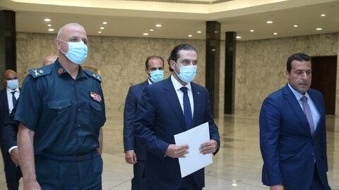 سعد حریری نخست وزیر مکلف لبنان