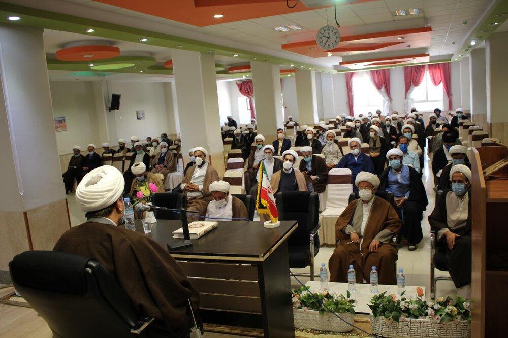 تصاویر / نشست روحانیون استان ایلام با حضور رئیس مرکز حفاظت اطلاعات قوه قضائیه