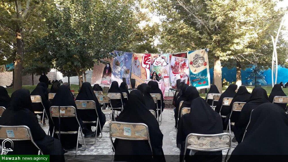 تصاویر / دورهمی بزرگ بانوان بنابی بمناسبت هفته حجاب و عفاف