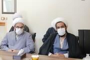 تصاویر/ نشست نماینده ولی فقیه در کردستان با مدیریت و اساتید مدرسه علمیه قروه