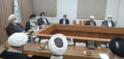 دیدار رئیس دستگاه قضا با اعضای شورای عالی جامعه مدرسین