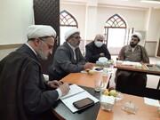 جلسه ستاد بحران حوزه علمیه استان اردبیل برگزار شد + عکس