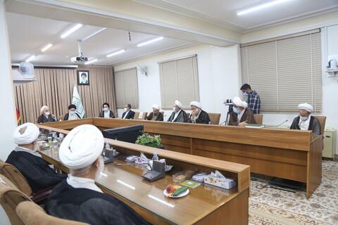 تصاویر / دیدار رئیس قوه قضائیه با اعضای جامعه مدرسین