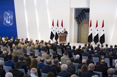 Башар Асад обратился к сирийскому народу ФОТО