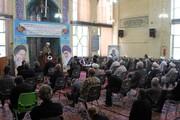 تصاویر / مراسم عزاداری شهادت امام محمد باقر(ع) در حوزه آیت الله آخوند