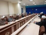 تقدیر دفتر سیاسی اجتماعی حوزههای علمیه از طلاب جهادی گلستان