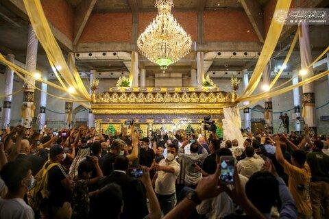 افتتاح شباك الشفاء لمزار العلوية شريفة بنت الإمام الحَسن (عليه السلام)
